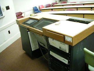 """Multimedia Classroom podium v2.0 """"flat top"""" circa 1996"""